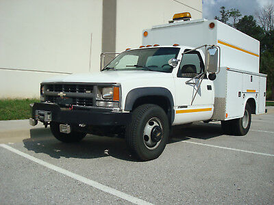 Chevy K3500 4Wd Dually Mechanic's Road Service Utility Truck 454 Fully Equip