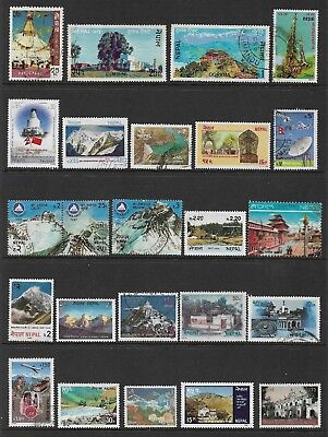 NEPAL mixed collection No.8, mint & used