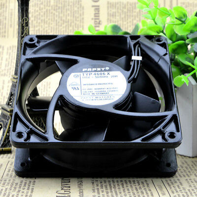 PAPST TYP 4606X 115V 20W 106 CFM all metal heat-resistant cooling fan 12038