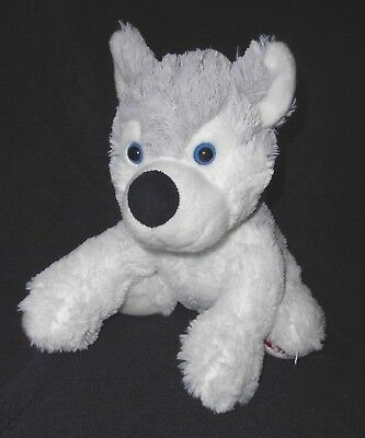 Great Wolf Lodge Souvenir Wolf Plush Stuffed Animal Grey White