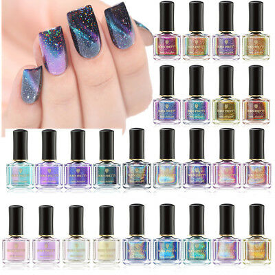BORN PRETTY Nail Polish Holographic Chameleon Magnetic Color Changing Nail Art