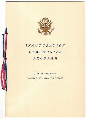 Congressional Invitation to President Dwight D. Eisenhower's 1953 Inauguration