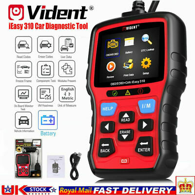 Toyota Yaris Car Fault Code Reader NT201 Engine OBD2 Scanner Diagnostic Tool UK