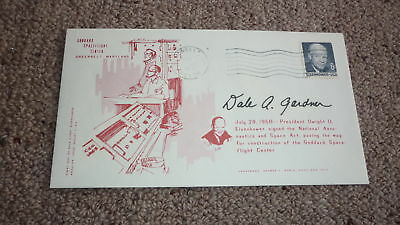 American Astronaut Dale Gardner Hand Signed Usa Space Cover