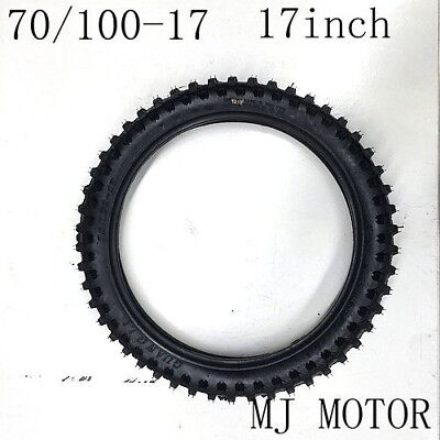 "70/100 - 17"" inch Front Knobby Tyre Tire PIT PRO BIGFOOT Trail Dirt Bike"