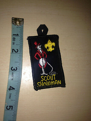 1970s Vintage Boy Scouts UNIFORM BSA Patch Spirit of Showman california america