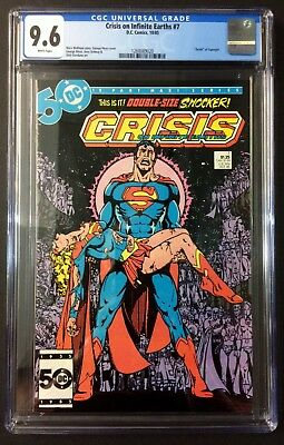 Crisis On Infinite Earths #7 CGC 9.6 Death Of Supergirl From Personal Collection