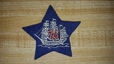 RARE 76th Division Sailing Ship Patch