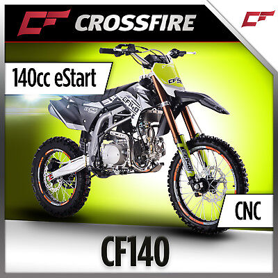 NEW Crossfire CF140 140cc Dirt Bike eStart, Pit Bike, Similar Size to TT-R12LWE
