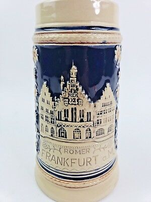 VTG Rare German Beer Stein Romer Frankfurt a.M. Made in Germany