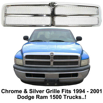 replacement grill for 1994 1995 1996 1997 1998 1999 2000 2001 dodge ram 1500 89 99 picclick picclick