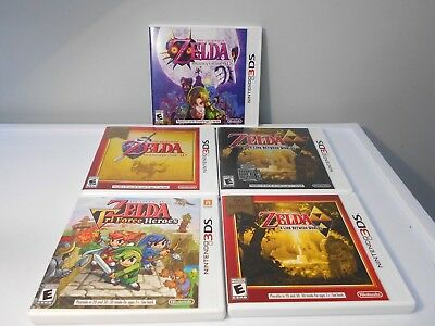 Nintendo 3DS Legend of Zelda games select title great shipping discounts!