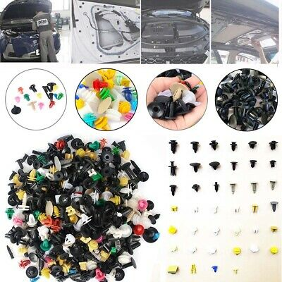 500Pcs Mixed Plastic Auto Car Fastener Clip Bumper Fender Trim Rivet Door Panel