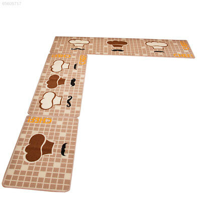 E7D4 Colorful Carpet Rug Home Supplies Door Bedroom Polyester Water Absorption