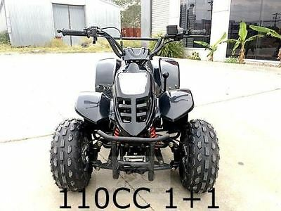 110CC ATV Quad 4 Wheel Buggy Semi Auto 1+1 Reverse Sport DirtBike Red/Blue/Black