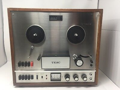 Vintage TEAC Model A-1500-W Reel to Reel Tape Deck Made In Japan As Is Untested