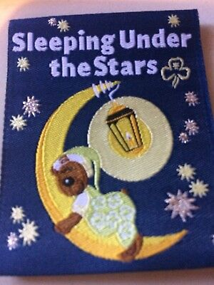 Girl Guides / Scouts Sleeping under the stars