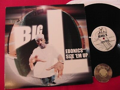 LP Big L Ebonics Size 'Em Up USA 1988 | EX