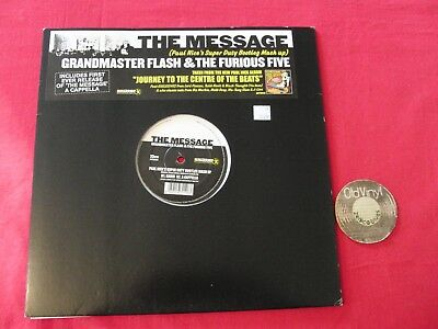 LP The Message Grandmaster Flash & The Furious Five EU 2004 | EX