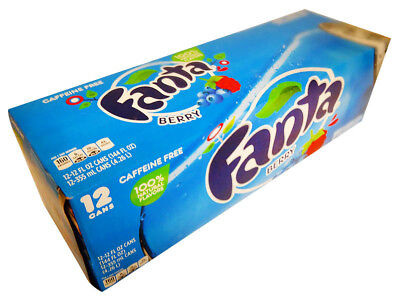 Fanta - Berry (12 x 355ml Cans in a Display Unit)