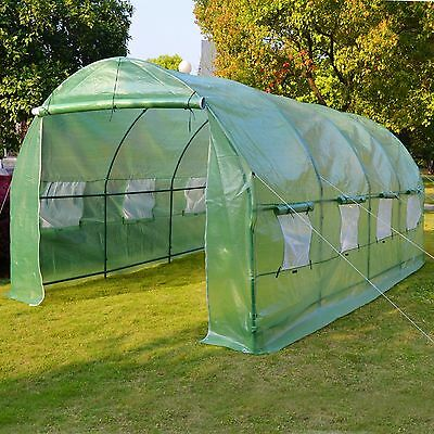 Hot Green House 20'X10'X7' Larger Walk In Outdoor Plant Greenhouse