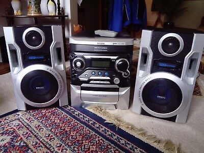 Phillips hifi system fw m375 3cd and mp3.
