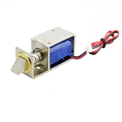 DC 12V File Display Cabinet Drawer Latch Assembly Solenoid Electric Lock 1W