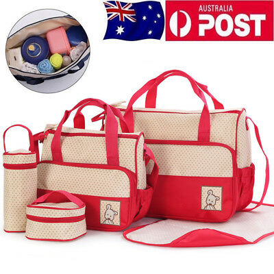 5 pcs in Set Waterproof Diaper Nappy Changing Liners Bags Mummy Baby Travel Bag