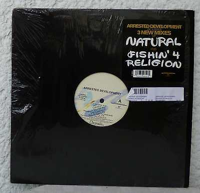 ARRESTED DEVELOPMENT - Natural / Fishin 4 Religion  12""