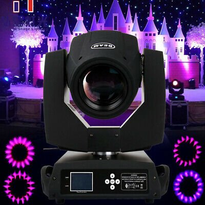 360W Zoom 4in1 Moving Head Light Fascio Beam Teste Mobili Luce Capa Commovente