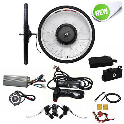 26'' 1000W 48V E-bike Bicicletas Eléctricas Rueda Front Conversion Kit No Batter