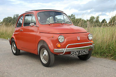 Fiat 500L Classic 1971 RHD Great Condition Only 55,000 Miles