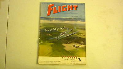 Flight & Aircraft Magazine, May 1945, Great Advertising, Commercial & Military