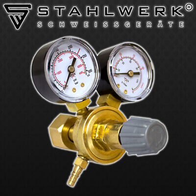 Mini bottle Gas Regulator for ARGON /CO2 /Inert gas MIG TIG Welding Double Gauge