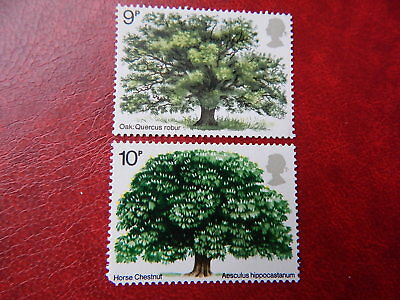 gb stamps s g 922. & s g 949.  British Trees. 1st & 2nd  Issue.