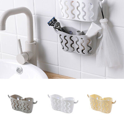 Suction Cup Basket Holder Shower Caddy Sink Soap Rack Wall Hanging Home Storage