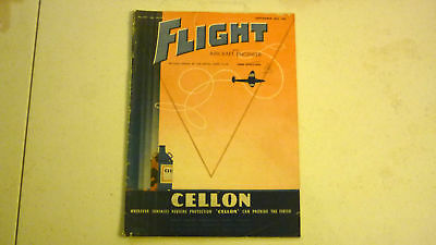 Flight & Aircraft Magazine, Sep 1945, Great Advertising, Commercial & Military 2