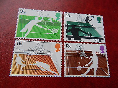 gb stamps s g 1022-1025. Racket Sports.