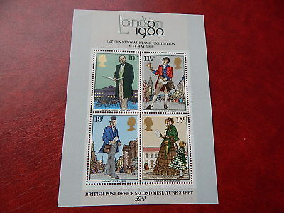 gb stamps m s 1099. Death Centenary of Sir Rowland Hill. postal reformer.
