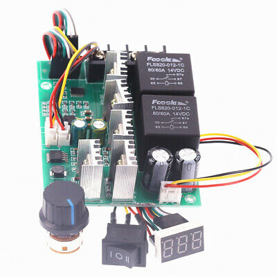 PWM Speed Controller Motor Display 0~100% Adjustable Drive Module MAX60A 12V 24V