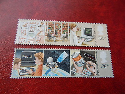 gb stamps s g 1196-1197.  Information Technology.