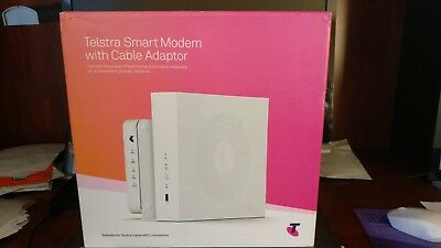 Telstra Smart Modem with Cable Adapter FOR TELSTRA CABLE (NBN FUTURE TRANSITION)