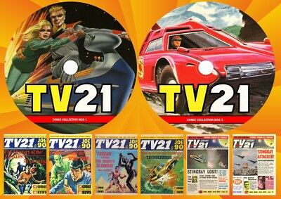 Tv21 + Tv Century 21 + Lots More On Two Dvd Rom's