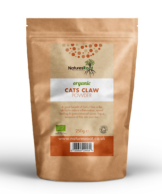 Natures Root Organic Cats Claw Powder 60g | 125g | 250g | 500g | 1kg