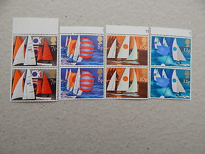 gb stamps s g 980-983.  Sailing.