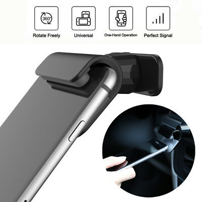 Interior Gravity Car Phone Holder 4 – 7 Inch Mounts Stand For iPhone Samsung GPS