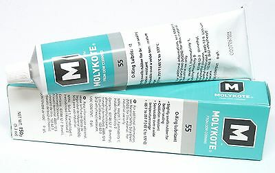 Molykote 55 O-ring Grease from: Dow Corning (sold by the tube)