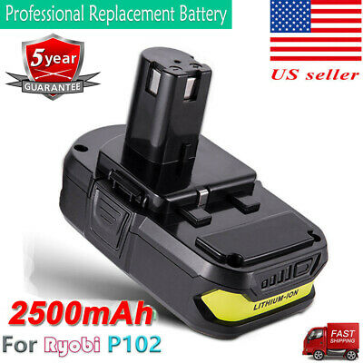 18 Volt P102 Lithium-Ion Battery For Ryobi 18V One Plus P103 P108 Power Tool NEW