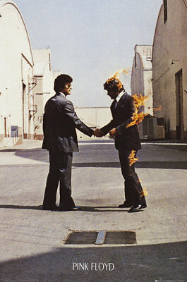 Pink Floyd Wish You Were Here Music Prog Rock Maxi Poster Print 61x91.5cm 24x36
