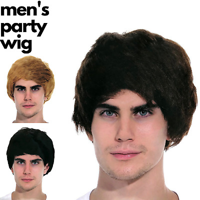 Men's Party Wig Costume Party Dress Up Fancy Classic Style